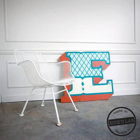 Houten letters 08