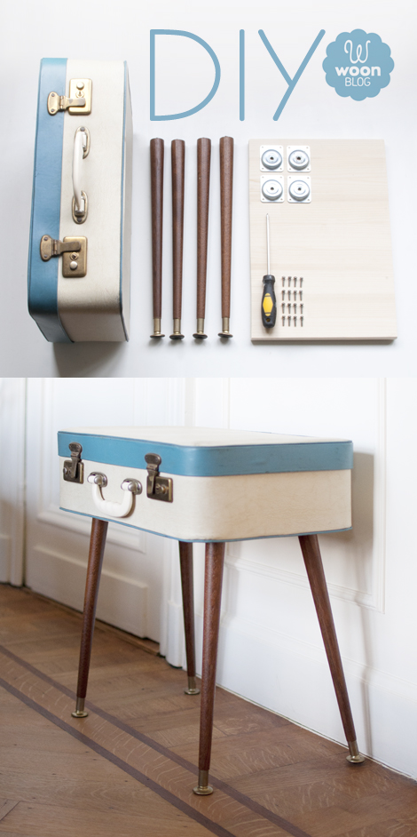 Woonblog diy retro koffer poten vintage