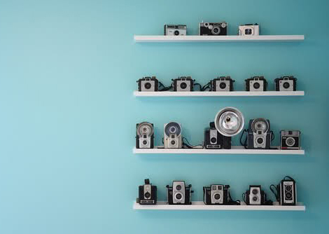 Vintage camera collection 01