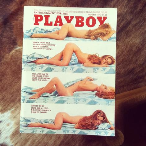 Playboy vintage 1974