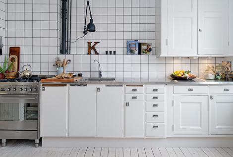 Witte Houten Vloer In Keuken: Doe hier inspiratie op voor een ...