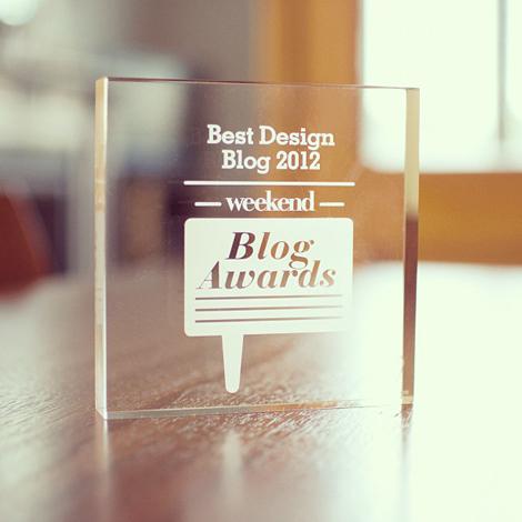 Best design blog 2012
