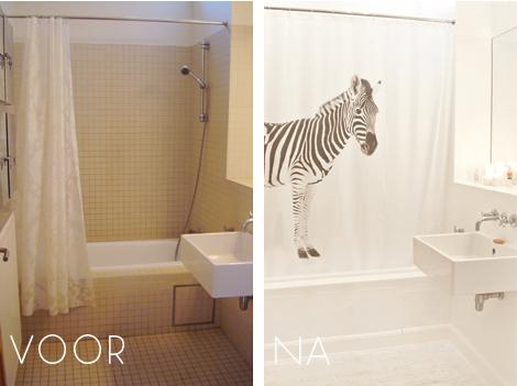 Badkamer Tegel Verf : Een nieuwe badkamer voor geen geld woon