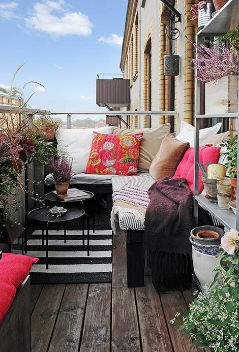 Woonbog balkon terras groen 11