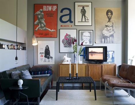 Binnenkijken in een klein appartement met grote idee n woonblog - Een klein appartement ontwikkelen ...