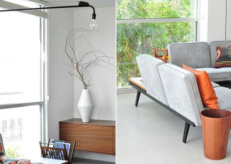 Mid century modern interieur 01