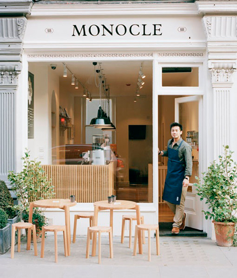 monocle caf london the wonderful unknown small cafe design 470x551