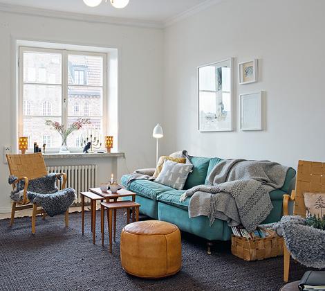 Binnenkijken in een appartementje in scandinavische stijl - woonblog