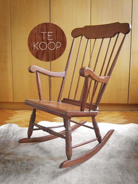 Oude Schommelstoel Te Koop.Twee Schommelstoelen Te Koop Op Kapaza Woonblog