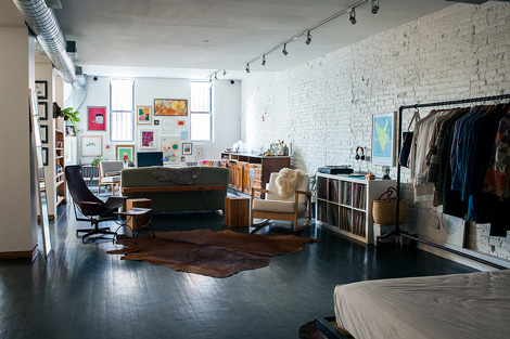 Binnenkijken in een appartement in brooklyn new york woonblog - Appartement new york brooklyn ...
