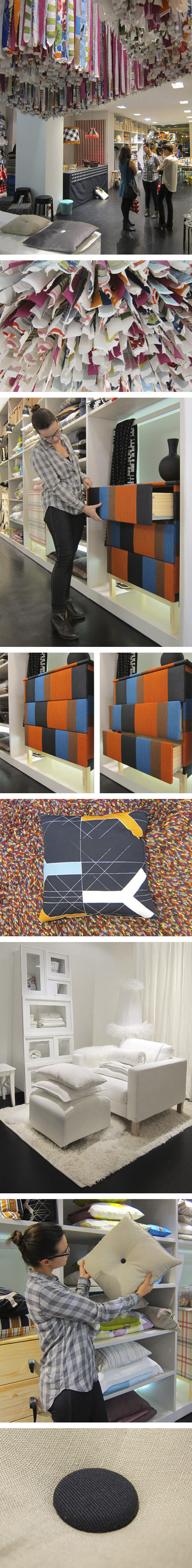 Ikea pop up textiles brussel