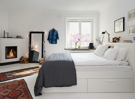 binnenkijken in 20 witte slaapkamers - woonblog, Deco ideeën