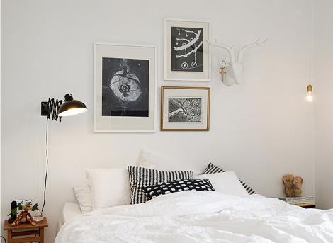 Binnenkijken in 20 witte slaapkamers woonblog - Deco brandweerman slaapkamer ...