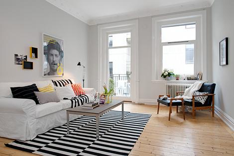 Binnenkijken in twee zweedse appartementjes woonblog - Mooi huis deco interieur ...