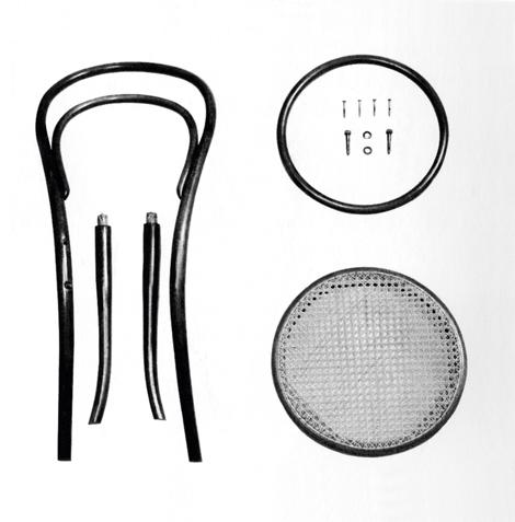 Thonet 214 stoel 01