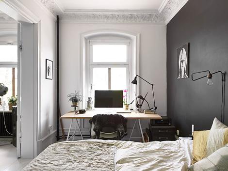 Zwart Wit Appartement : Binnenkijken in een zwart wit appartement woonblog