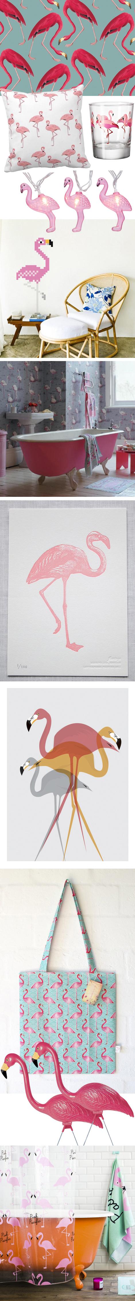Flamingo deco interior trend 2