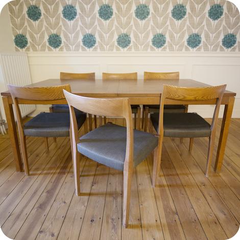 Eettafel Met Zes Stoelen Te Koop.Vintage Tafel Te Koop Sarkarijobs