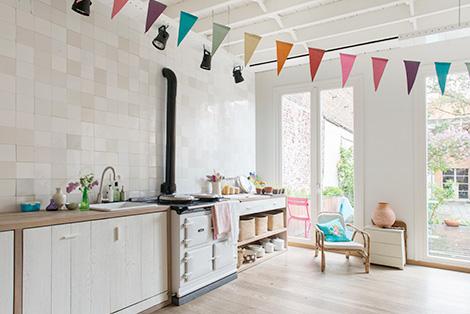 binnenkijken in een scandinavisch huis in het centrum van gent, Meubels Ideeën