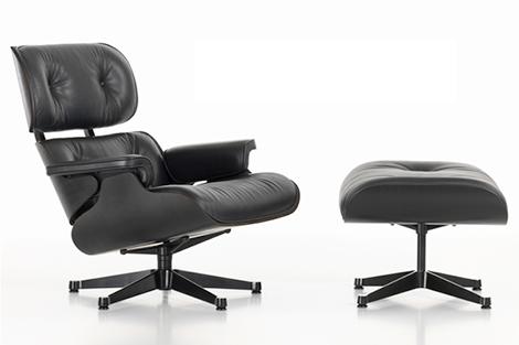 Eames-lounge-chair-zwart-actie-weekend-knack