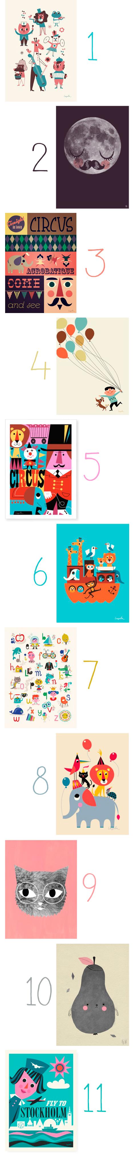 Kinderkamer-poster