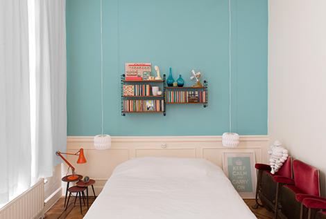 De kleuren uit ons appartement + win heeeel veel Levis Ambiance ...