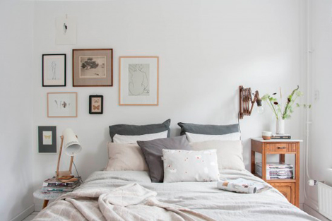 101 Woonideeen Slaapkamer : Binnenkijken in een slaapkamer vol prachtige pasteltinten woon