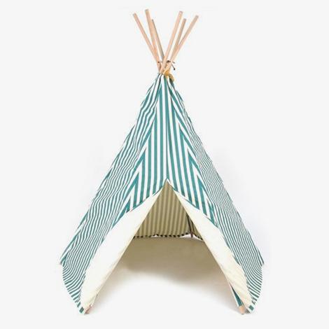 Tipi-tent-wigwam-nobodinoz-groen-streep-green-stripes-wolf-en-wolkje_1024x1024