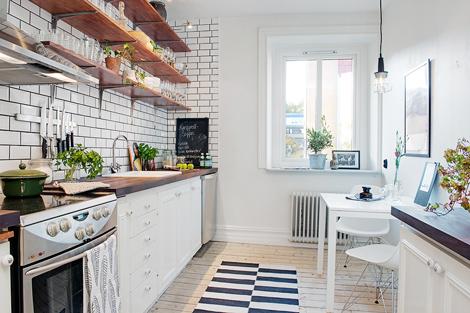Metrotegels in de keuken   woonblog