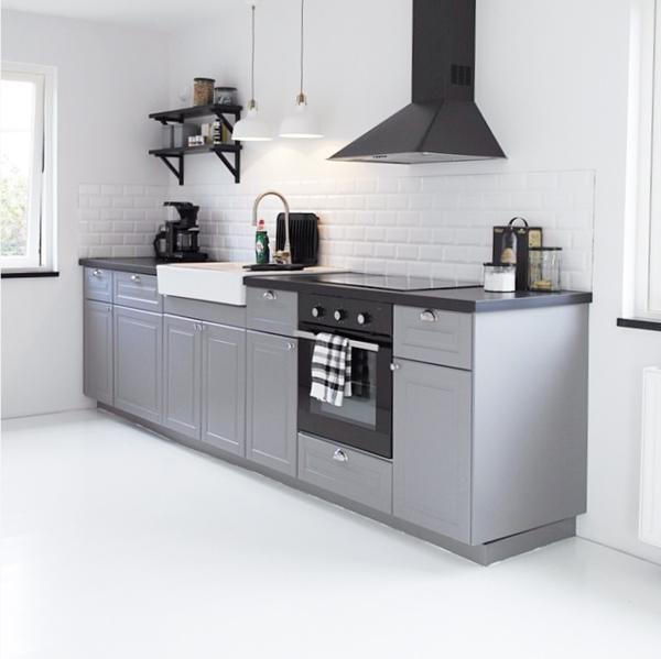 Keuken Grijs Ikea : Binnenkort koken we in de Metod / Bodbyn keuken van Ikea