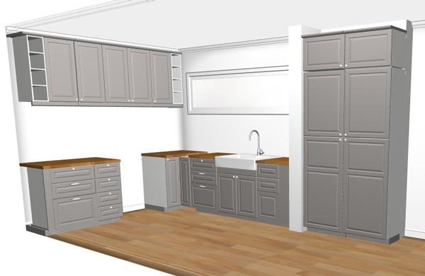 Grijze Keuken Ikea : Binnenkort koken we in de Metod / Bodbyn keuken van Ikea – woonblog
