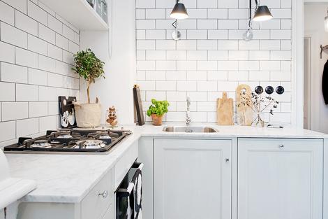 Tegels Keuken Scandinavisch : Metrotegels in de keuken woon