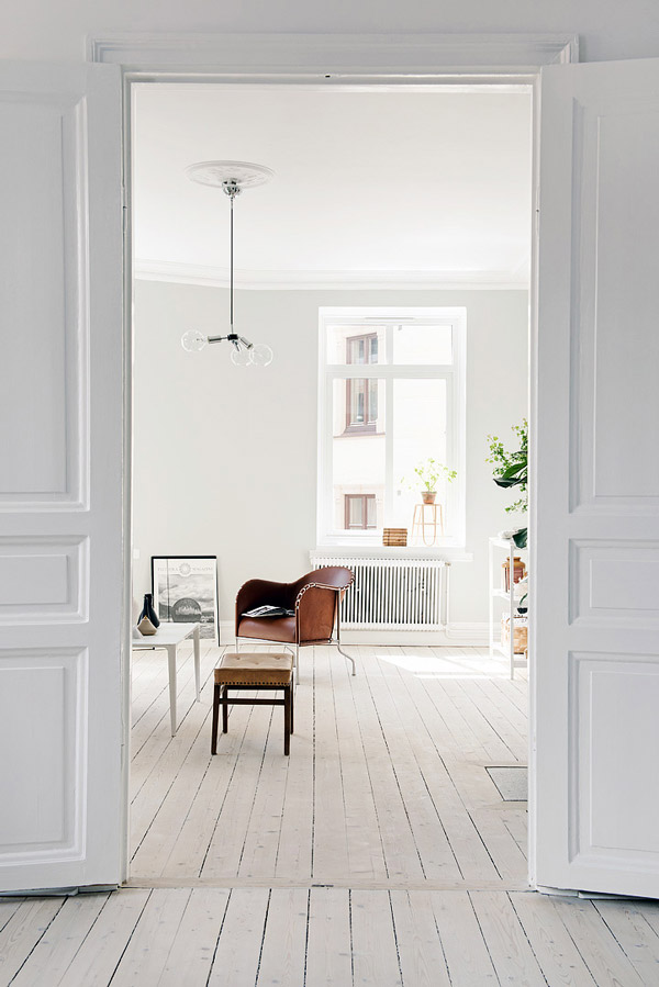 Binnenkijken in een scandinavisch droomappartement in zweden ...