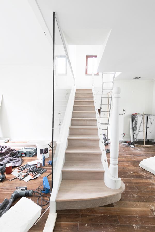 Dag nieuwe trap woonblog for Nieuwe trap laten plaatsen