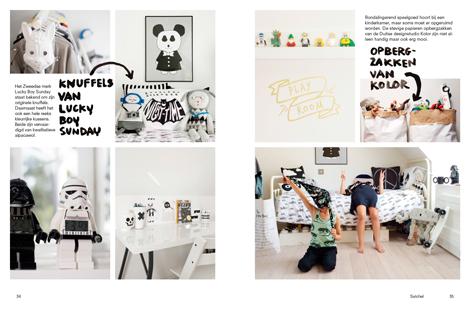 mini woonboek woonblog kinderkamer inrichten monochrome kidsroom